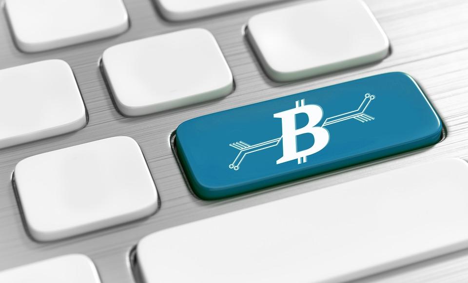 Blockchain button