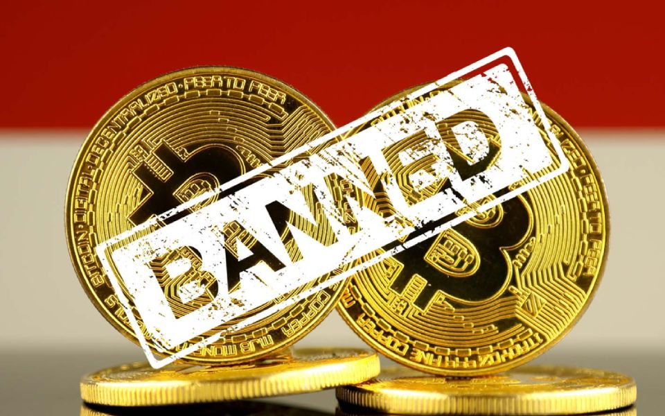 indian officials ban private crypto ownership