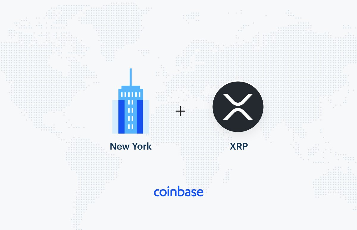 Coinbase Launches Support for XRP Trading