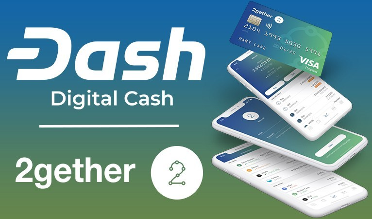 2gether adds dash in its supported crypto list