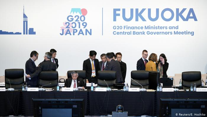 G20 finance ministers ask for multilateral response to crypto.