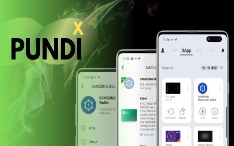 Samsung Galaxy S10 integrates Pundi X's wallet app