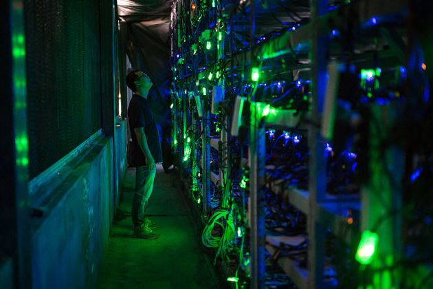 Chinese police seizes Bitcoin mining machines