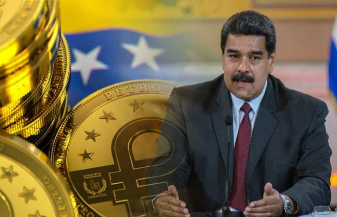 President Maduro orders to accept the Petro crypto