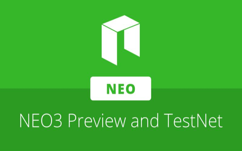 NEO release NEO3 Preview1