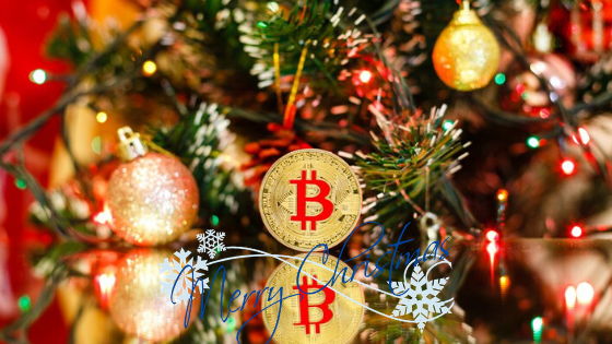 christmas shopping using cryptocurrency