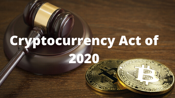 cryptocurrency act of 2020