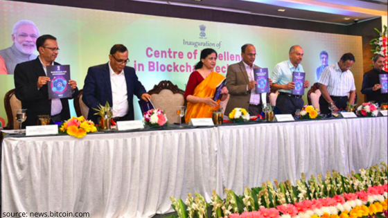 blockchain technology center of excellence inaugurates in Bangalore