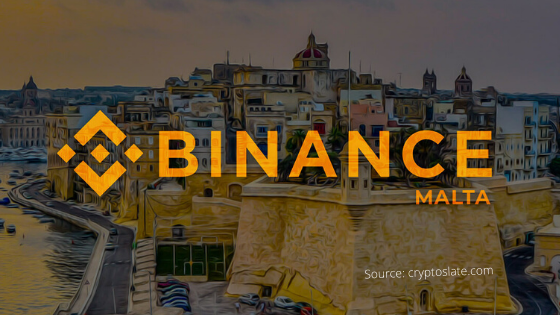 Binance in Malta