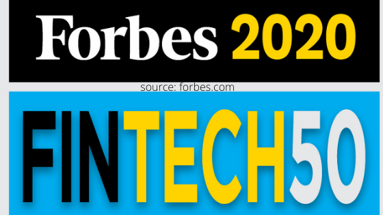 forbes release top 50 fintech company list