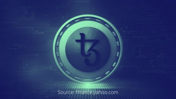 tezos outperforms bitcoin price