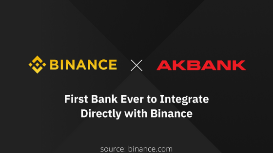 Binance partners with Akbank
