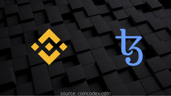 Binance.US will list tezos token for trading