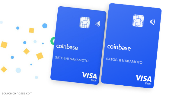 Coinbase card now available on Android phones through Google Pay