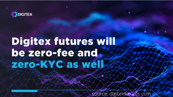 Digitex to remove KYC to protect user data