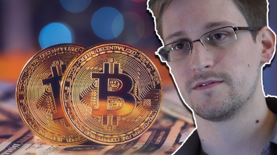 Edward Snowden feels like buying bitcoin