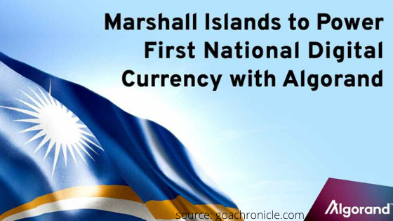 Marshall Islands sovereign digital currency will be based on algorand