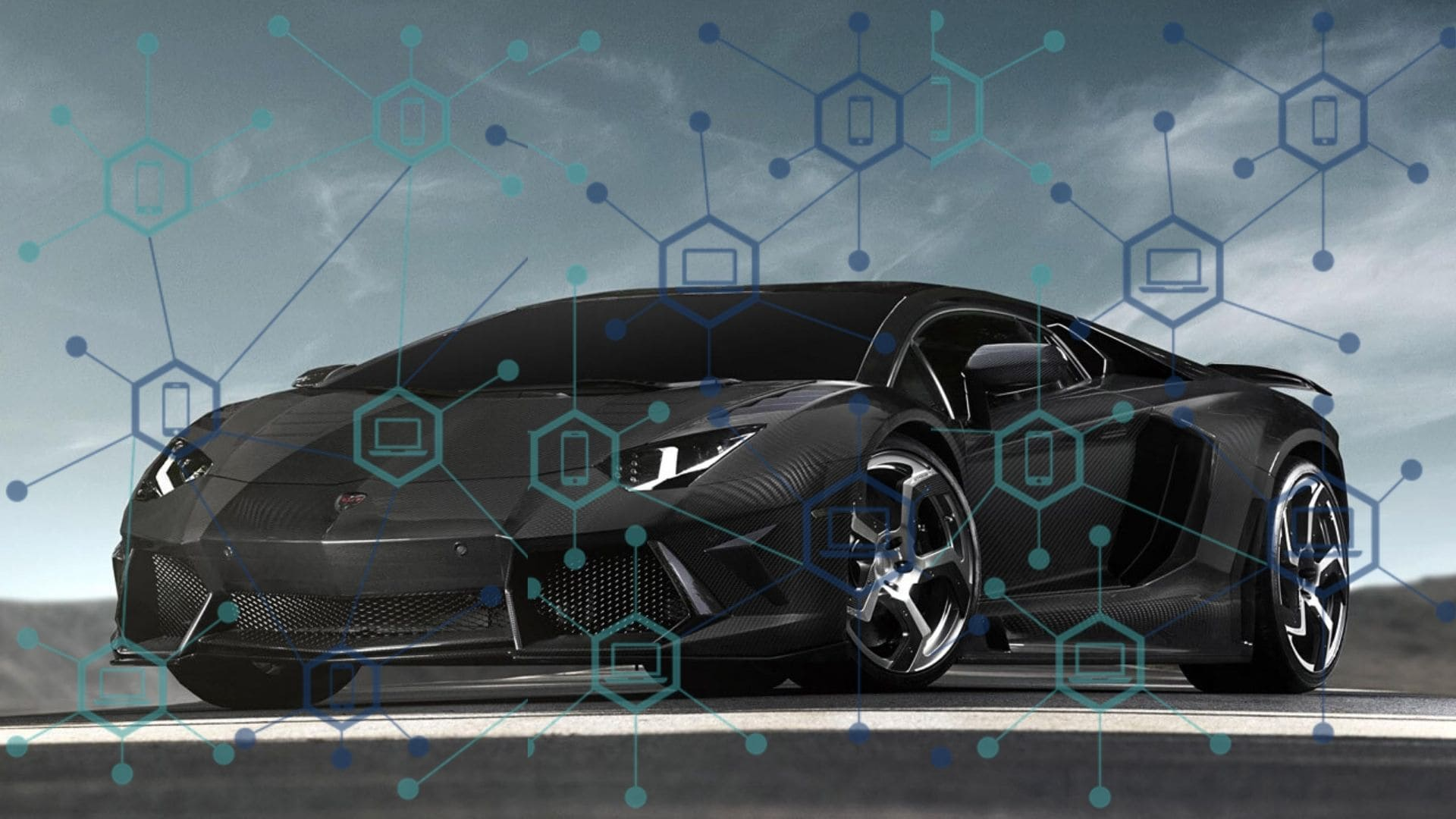 Lamborghini Is Launching Blockchain-Based Collectible Stamps